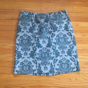 Blue skirt for women